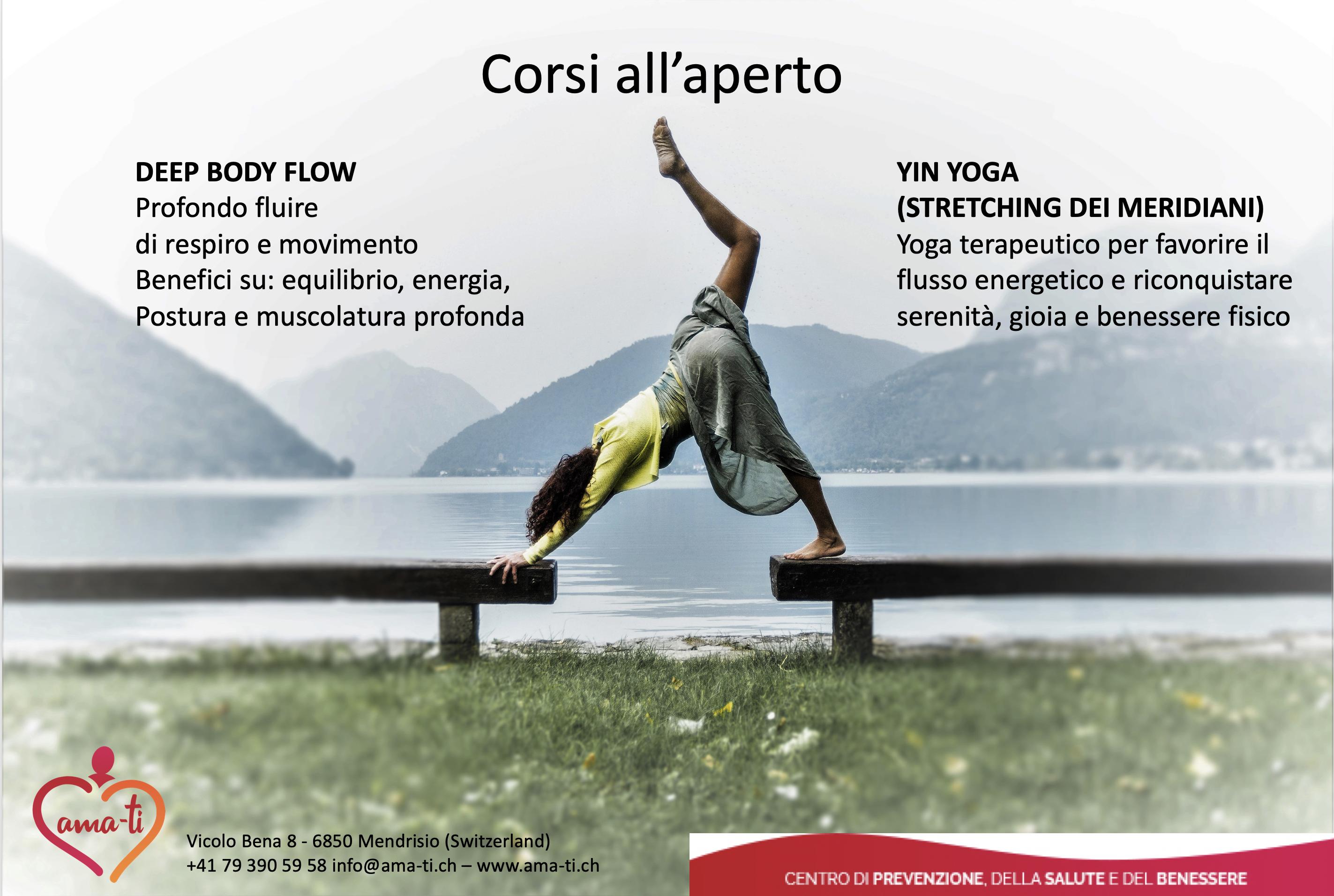 Deep Body Flow And New Yin Yoga Classes Ama Ti